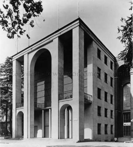 1933 v triennale di milano padiglione della radio for Milano triennale mostre